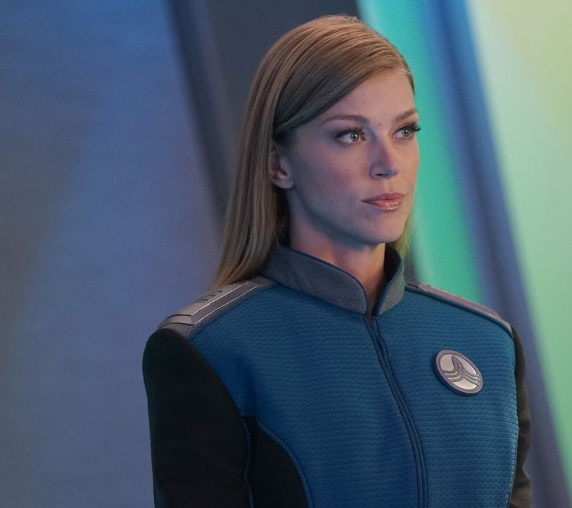 Commander Kelly Grayson (Adrianne Palicki) - Bildquelle: Kevin Estrada 2019 Twentieth Century Fox Film Corporation. All rights reserved. / Kevin Estrada
