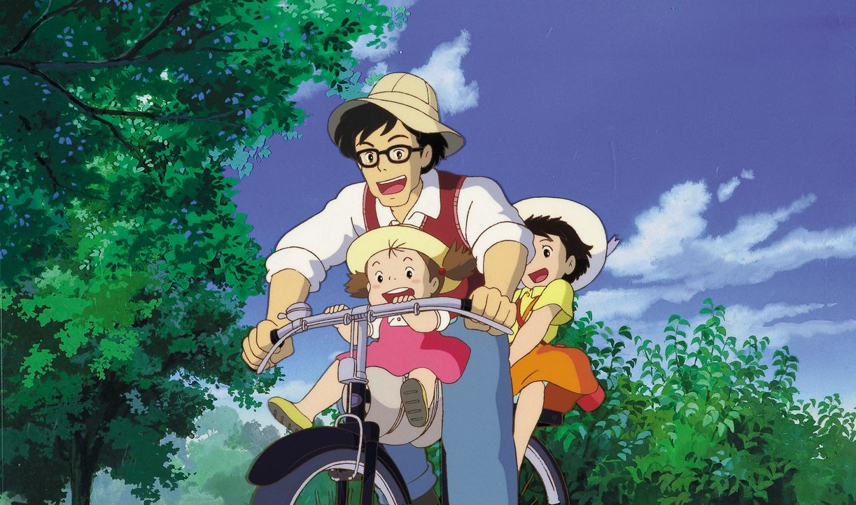 (v.l.n.r.) Mei Kusakabe; Tatsuo Kusakabe; Satsuki Kusakabe - Bildquelle: Wild Bunch Germany
