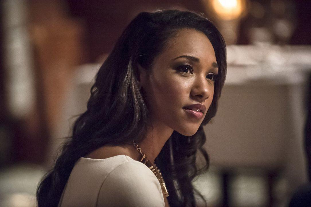 Wie wird Iris (Candice Patton) damit umgehen, dass Eddie ihr etwas verheimlicht? - Bildquelle: Warner Brothers.