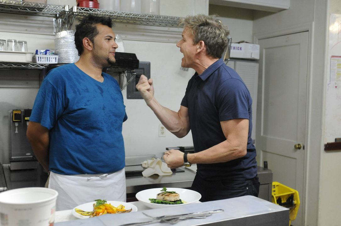 Gordon Ramsay (r.) - Bildquelle: Optomen TV & all3media International