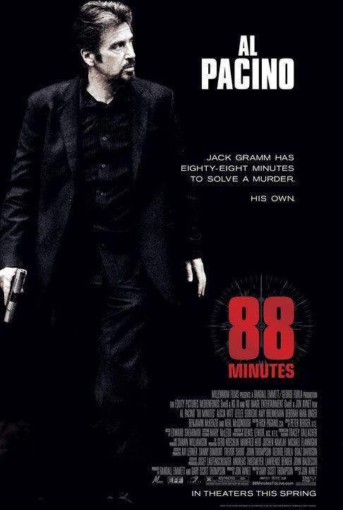 88 Minuten - Plakatmotiv - Bildquelle: Nu Image