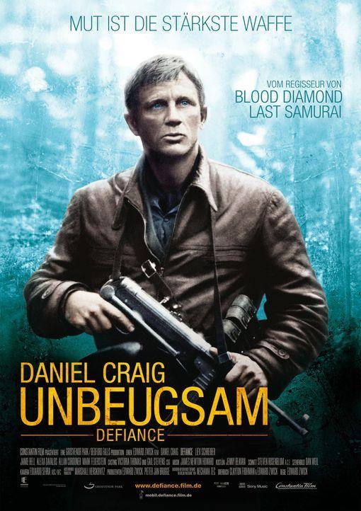 Unbeugsam - Defiance - Plakatmotiv - Bildquelle: 2009 Constantin Film Verleih