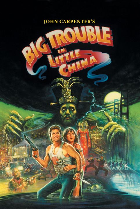 Big Trouble in Little China - Artwork - Bildquelle: 1986 Twentieth Century Fox Film Corporation. All rights reserved.