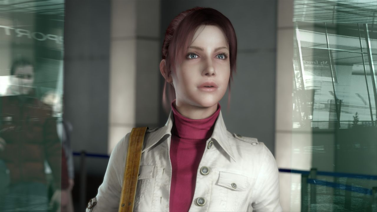 Unerwarteter Schock: Die Furchtlosigkeit der Mitarbeiterin der Menschenrechtsorganisation TerraSafe, Claire Redfield, wird 7 Jahre nach dem ersten A... - Bildquelle: 2008 Capcom Co., Ltd. and Resident Evil CG Film Partners. All Rights Reserved.