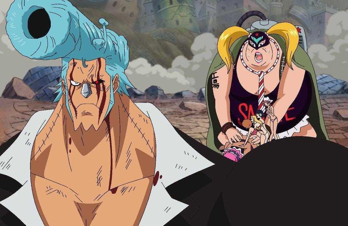 Franky (l.); Kyuin (r.) - Bildquelle: Eiichiro Oda/Shueisha, Toei Animation