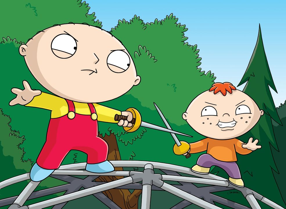 Stewie Griffin (l.); Bertram (r.) - Bildquelle: 2005 Fox and its related entities. All rights reserved.