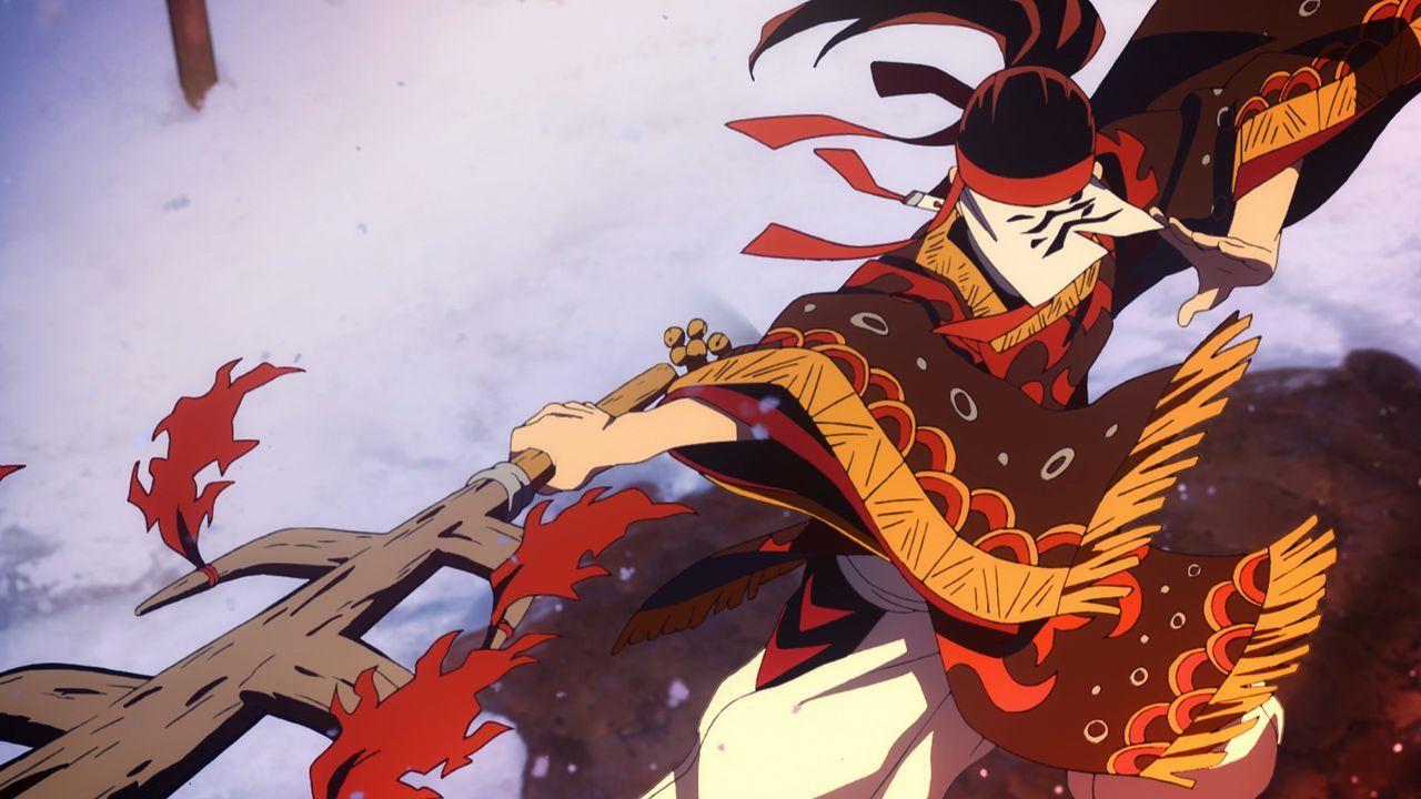 Die Feuergottheit - Bildquelle: Koyoharu Gotoge / SHUEISHA, Aniplex, ufotable