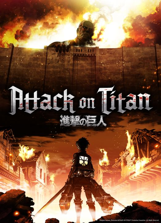 "Attack on Titan - Artwork - Bildquelle: Hajime Isayama,Kodansha/""ATTACK ON TITAN""Production Comittee All Rights Reserved."