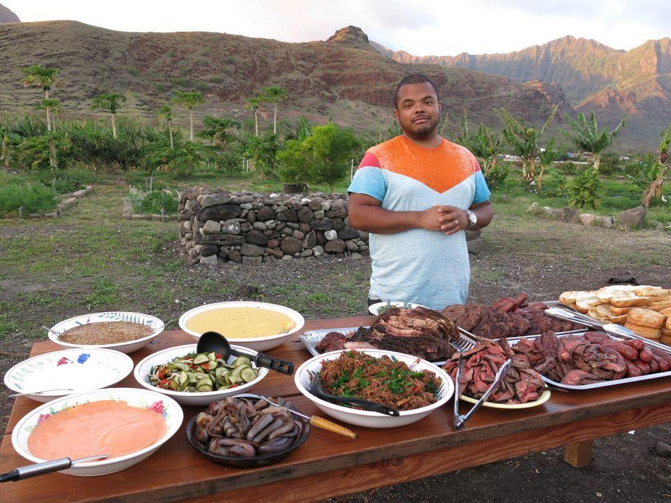 Der kanadische Chefkoch Roger Mooking macht sich in den USA auf eine ganz besondere kulinarische Reise ... - Bildquelle: 2013, Cooking Channel, LLC. All Rights Reserved.
