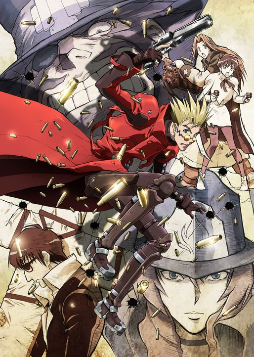 Trigun - Badlands Rumble - Bildquelle: Yasuhiro Nightow/Shonengahosha · TRIGUN PARTNERS  Licensed by FlyingDog, Inc.