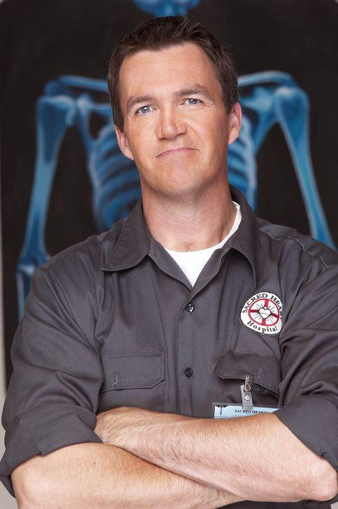 (3. Staffel) - Der Hausmeister (Neil Flynn) des Sacred Heart Hospitals macht insbesondere J.D. das Leben schwer ... - Bildquelle: Touchstone Television