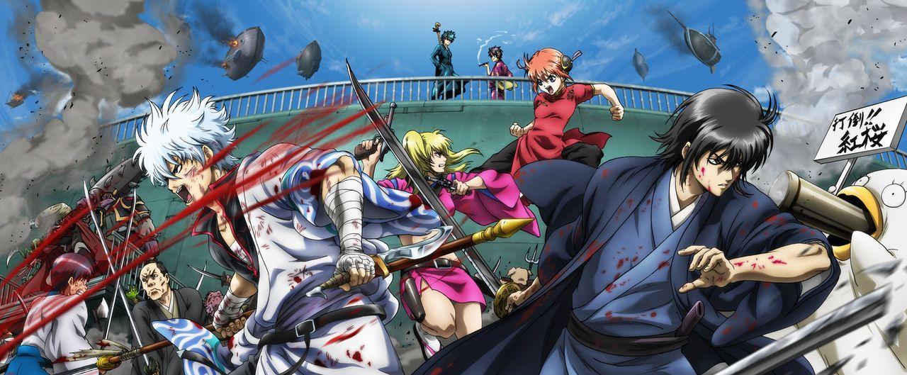 Gintama: The Movie - Artwork - Bildquelle: Hideaki Sorachi/GINTAMA the Movie