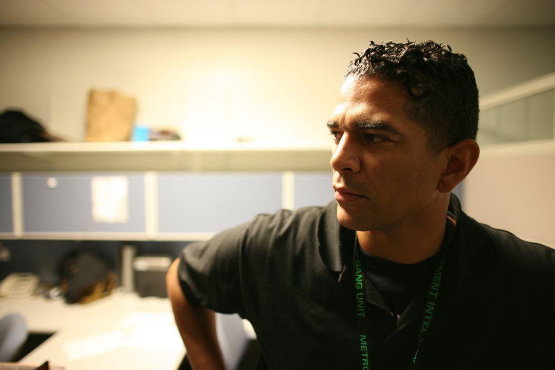 Polizeibeamter Alexander Gonzalez ist einer der Wärter des Clark County Detention Centers ... - Bildquelle: James Peterson National Geographic Channels