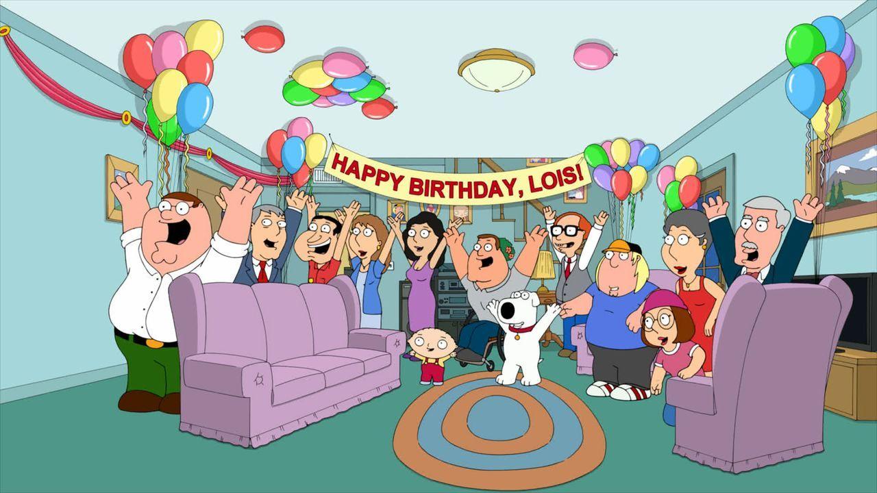 Lois hat Geburtstag, doch da sie Probleme mit dem Älterwerden hat, möchte sie auf keinen Fall feiern. Blöd nur, dass ihre Familie eine Überraschungs... - Bildquelle: 2013 Twentieth Century Fox Film Corporation. All rights reserved.