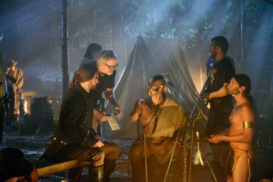 Backstage am Set von Sleepy Hollow - Bild12 - Bildquelle: 20th Century Fox and all of its entities all rights reserved
