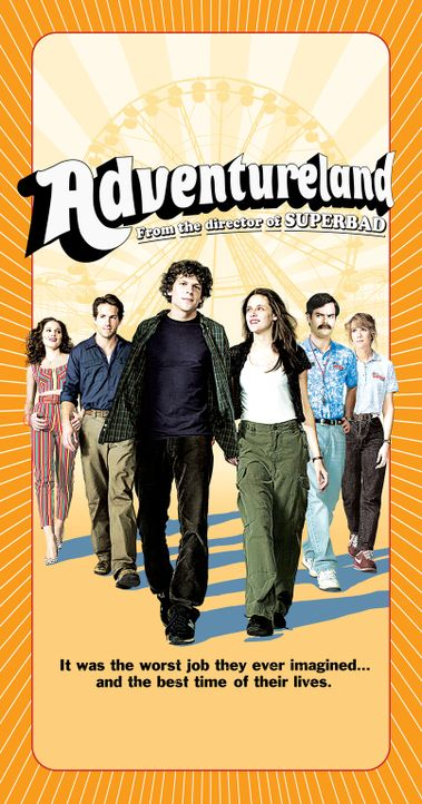 ADVENTURELAND - Plakatmotiv - Bildquelle: Miramax Films. All rights reserved
