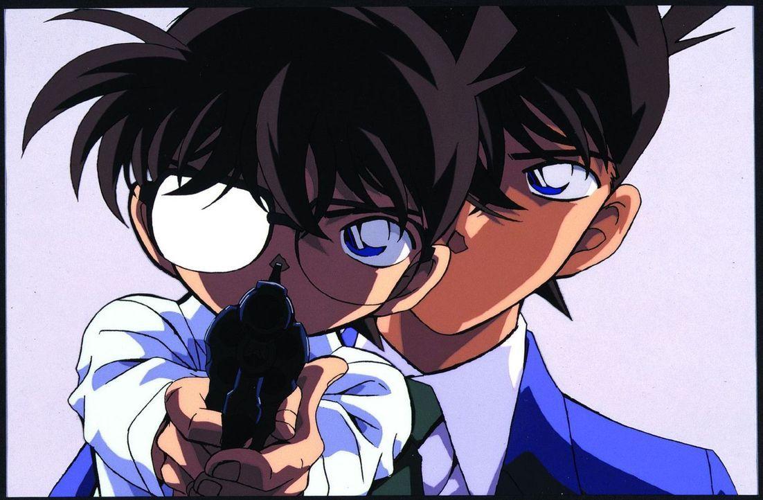 Ein neuer Fall für Detektiv Conan (l.): Zuerst wird Inspektor Juzo Megure Opfer eines heimtückischen Mordanschlags, dann Rans Mutter Eri und schließ... - Bildquelle: GOSHO AOYAMA / SHOGAKUKAN - Yomiuri-TV - UNIVERSAL MUSIC - ShoPro - TMS. All Rights Reserved. Under License to VIZ Media Switzerland SA