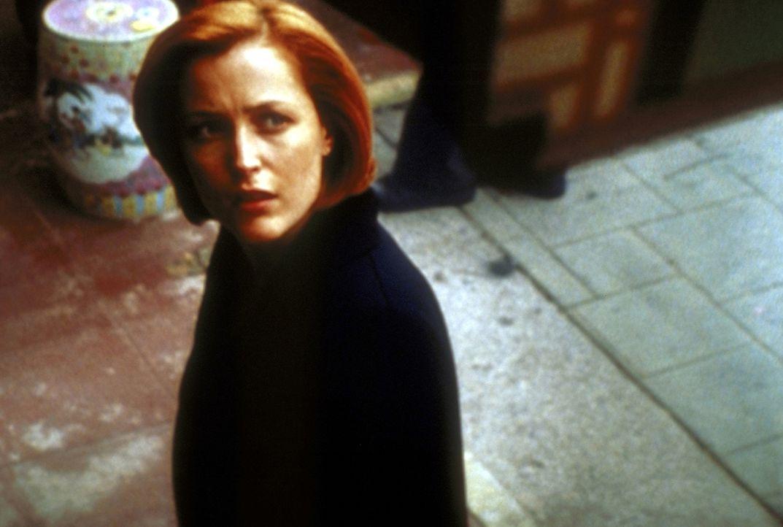 Scully (Gillian Anderson) wird durch die Begegnung mit einem wichtigen Menschen aus ihrer Vergangenheit völlig aus dem Gleichgewicht gebracht. - Bildquelle: TM +   2000 Twentieth Century Fox Film Corporation. All Rights Reserved.