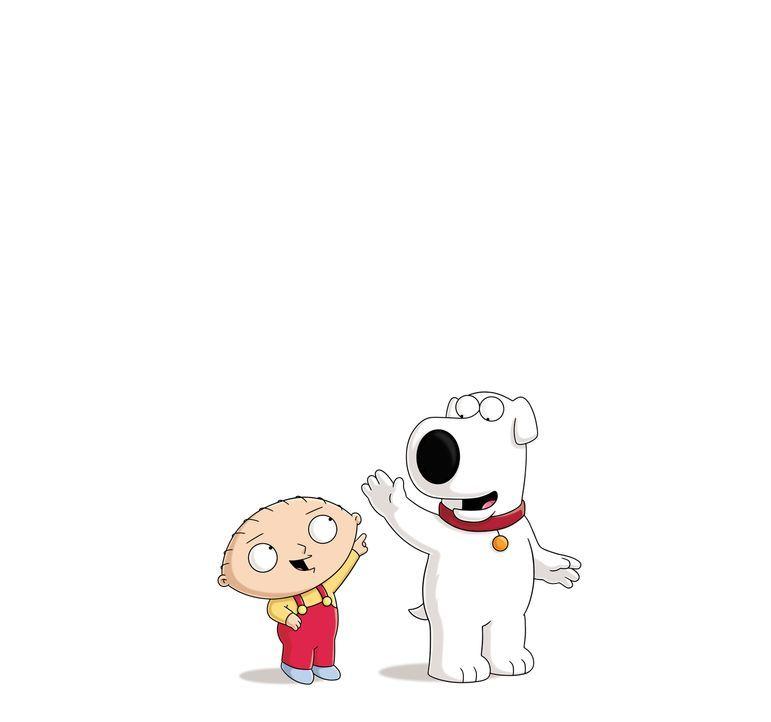 (13. Staffel) - Wahre Freunde kann nichts trennen: Stewie (l.) und Brian (r.) halten immer zusammen ... - Bildquelle: 2014 Twentieth Century Fox Film Corporation. All rights reserved.