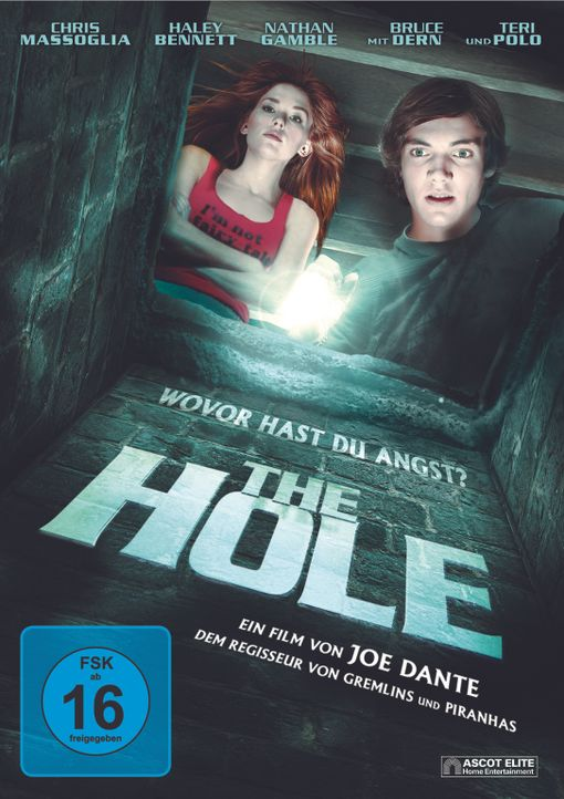 THE HOLE - Cover - Bildquelle: 2009 Ed Araquel/Bold FIlms