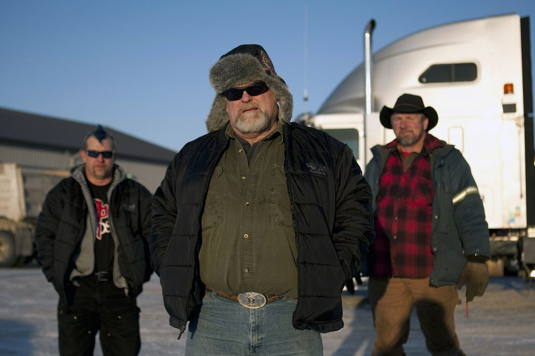 (5. Staffel) - Sie üben einen der gefährlichsten Jobs der Welt aus: die Ice Road Truckers ... - Bildquelle: 2011 A&E Television Networks.   All Rights Reserved.