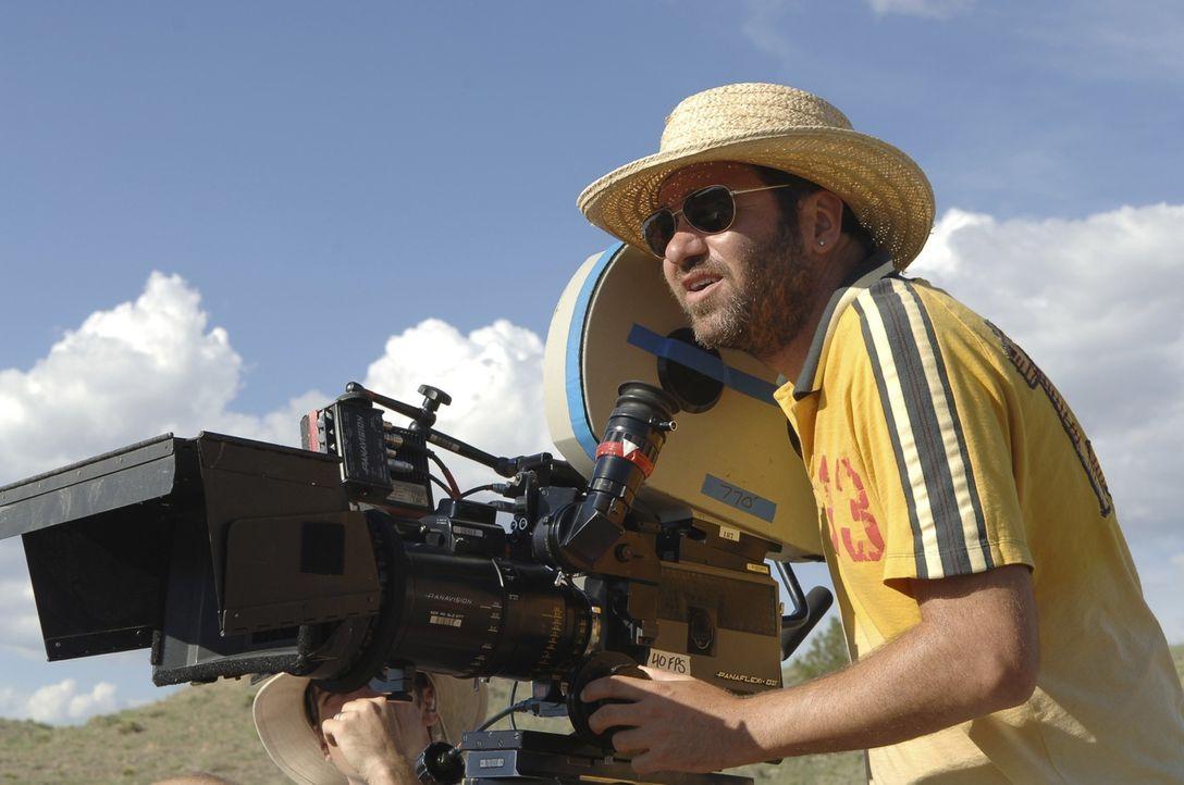 Regisseur Dave Meyers an der Kamera ...