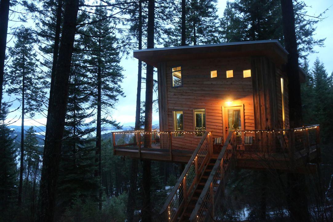 Die Buttars-Familie aus Idaho wünscht sich ein eigenes kleines Baumhaus auf ihrem riesen Grundstück, um gemeinsam mehr Zeit miteinander verbringen z... - Bildquelle: 2016, DIY Network/Scripps Networks, LLC. All Rights Reserved.