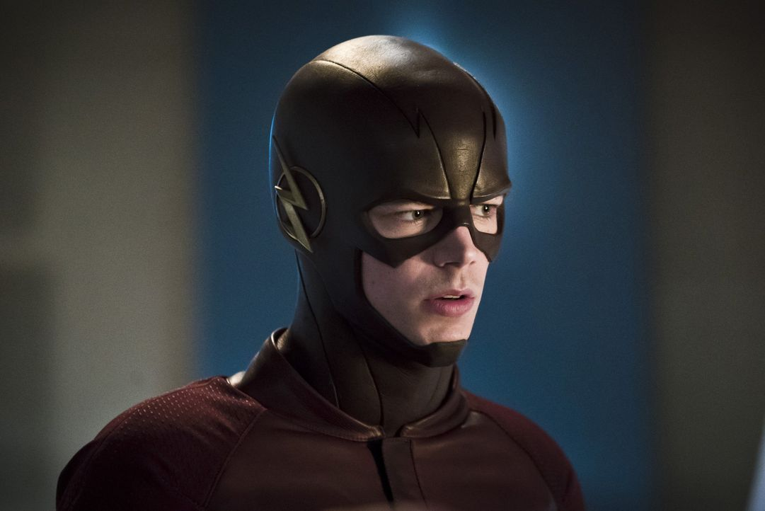 Während Barry alias The Flash (Grant Gustin) gegen einen neuen, schnellen Feind kämpft, versucht Iris, den Ruf von Flash zu retten ... - Bildquelle: Warner Bros. Entertainment, Inc.