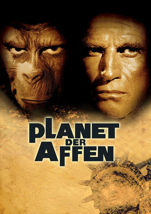 Planet der Affen - Artwork - Bildquelle: 1967 Twentieth Century Fox Film Corporation and Apjac Productions, Inc.  Renewed 1995 Twentieth Century Fox Film Corporation.  All rights reserved.