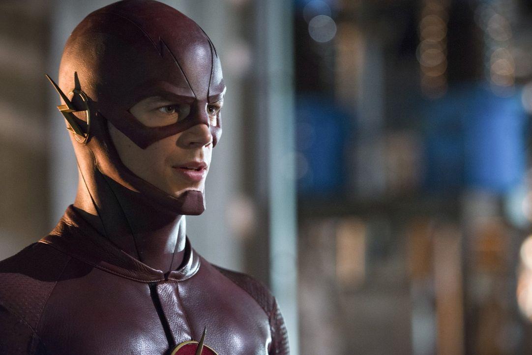 The Flash (Grant Gustin) nimmt es mit einem Übermenschen auf, der sich Elektrizität zunutze machen kann ... - Bildquelle: Warner Brothers.