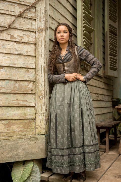 Für welche Seite wird sich Max (Jessica Parker Kennedy) entscheiden: Eleanors oder Charles'? - Bildquelle: 2015 Starz Entertainment LLC, All rights reserved.