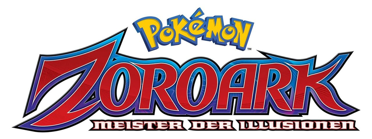 Pokémon - Zoroark: Meister der Illusionen - Logo - Bildquelle: 2014 Pokémon.   1997-2014 Nintendo, Creatures, GAME FREAK, TV Tokyo, ShoPro, JR Kikaku. TM, ® Nintendo.