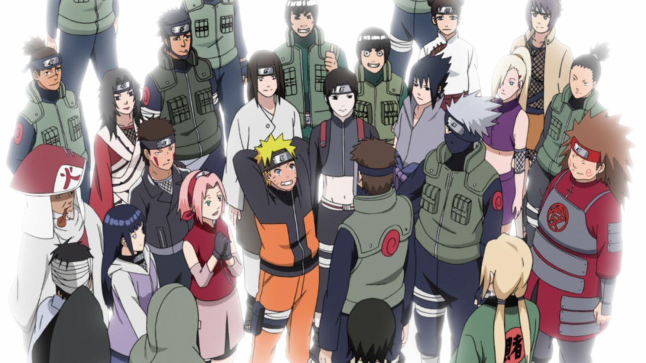 Team 7 - Bildquelle: 2002 MASASHI KISHIMOTO / 2007 SHIPPUDEN