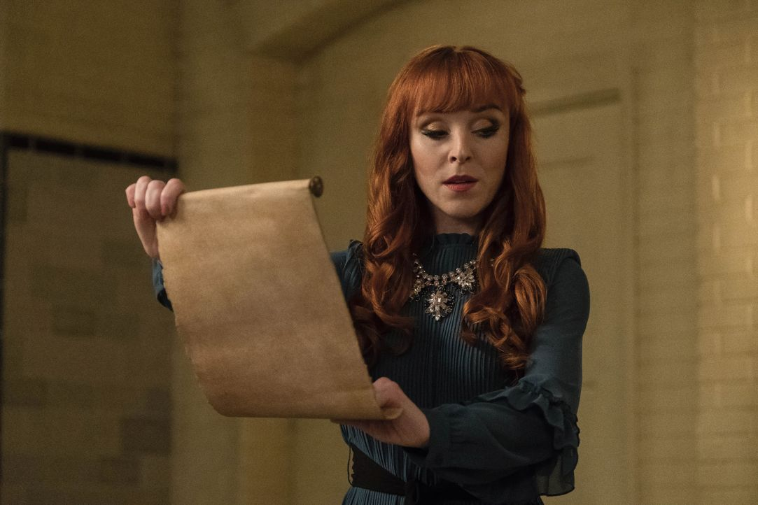 Rowena MacLeod (Ruth Connell) - Bildquelle: Cate Cameron 2018 The CW Network, LLC All Rights Reserved / Cate Cameron