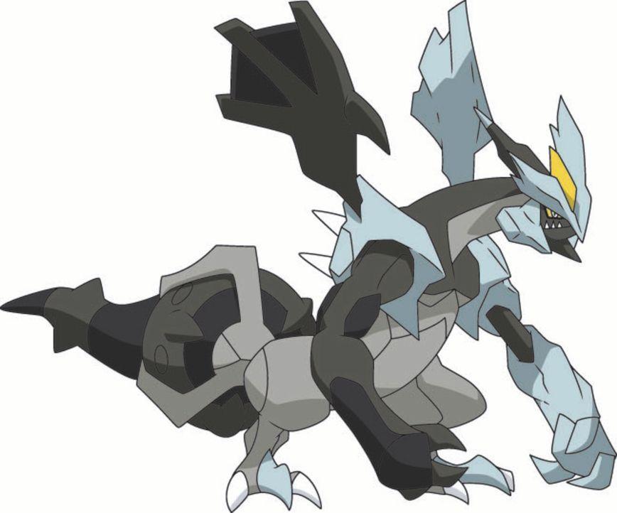 Wird Kyurem (Bild) Ash, Iris und Cilan etwas antun? - Bildquelle: 2014 Pokémon.   1997-2014 Nintendo, Creatures, GAME FREAK, TV Tokyo, ShoPro, JR Kikaku. TM, ® Nintendo.