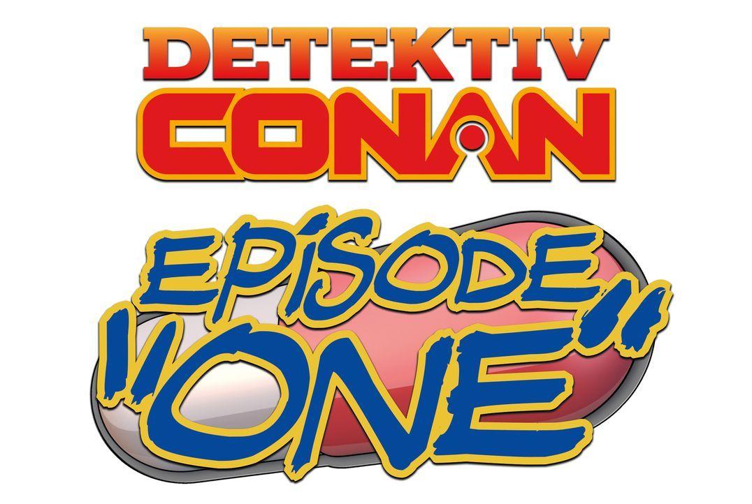 Detektiv Conan Episode One - Der geschrumpfte Meisterdetektiv - Logo - Bildquelle: GOSHO AOYAMA /Shogakukan, Yomiuri TV, TMS 2016 All Rights Reserved