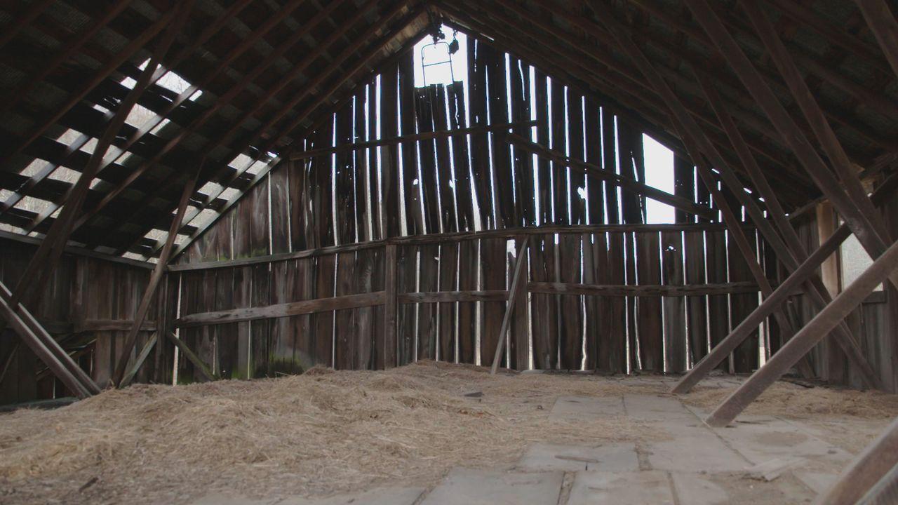 Werden es die Scheunen-Profis schaffen, auch aus dieser alten Scheune einen bewohnbaren Raum zu machen? - Bildquelle: 2015, DIY Network/Scripps Networks, LLC. All Rights Reserved.