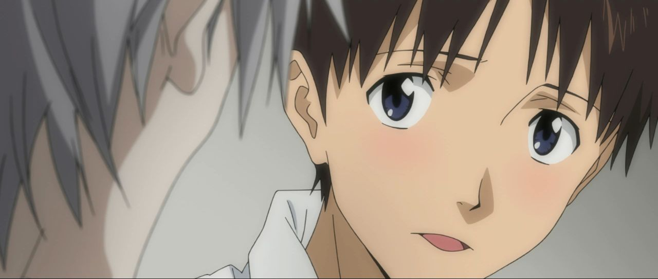 Nach den überraschenden Erkenntnissen über seine Mutter und Rei weiß Shinji nicht, ob er weiter gegen die Engel kämpfen möchte ... - Bildquelle: khara, GAINAX. All rights reserved