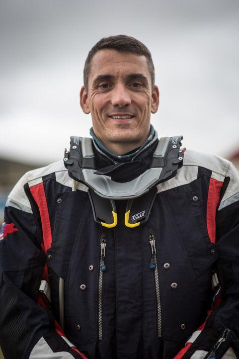 Wie schlägt sich Enduro-Fahrer Martin Kern bei der anspruchsvollen Offroad-Challenge?
