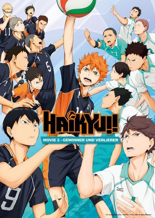 """Haikyu!! - Gewinner und Verlierer - Artwork - Bildquelle: H. Furudate / Shueisha, """"HAIKYU!!"""" Project, MBS  All Rights Reserved."""
