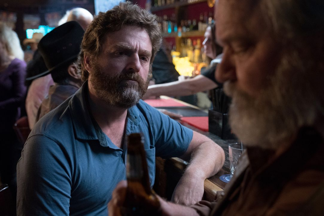 Chip Baskets (Zach Galifianakis, l.); Rambling Cowboy (Ritchie Montgomery, r.) - Bildquelle: 2018 FX Productions, LLC. All rights reserved.