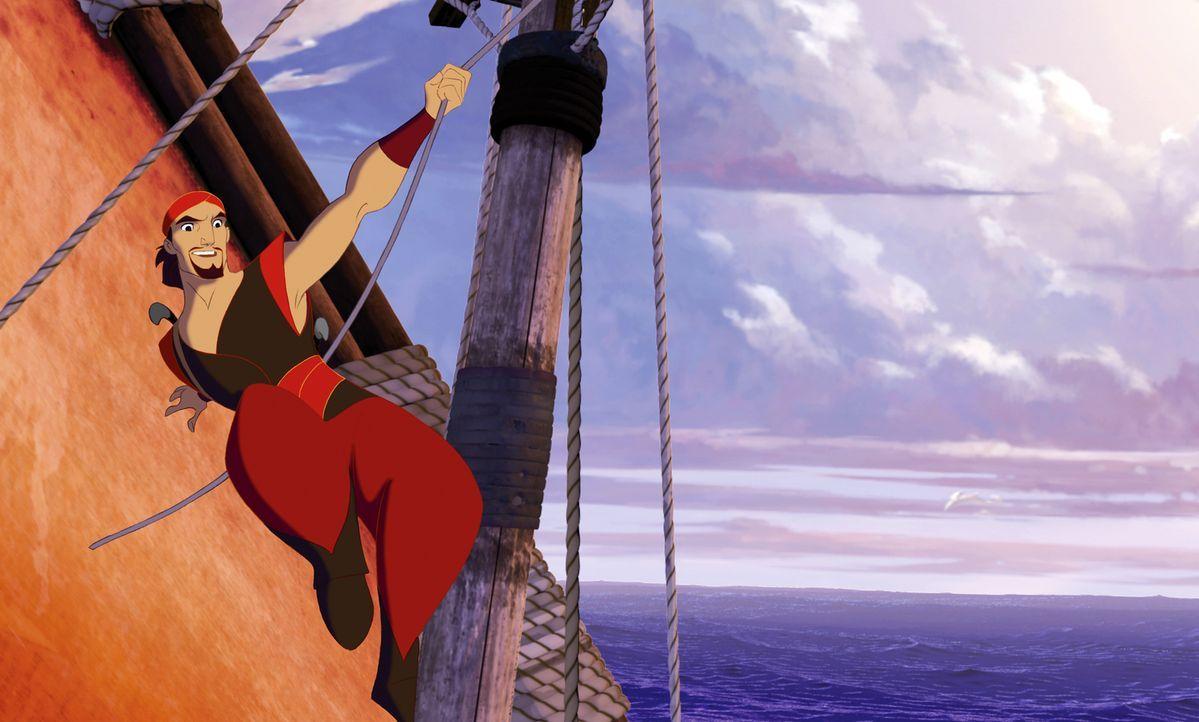 Sinbad ist der waghalsigste und berühmteste Gauner, der jemals die sieben Weltmeere bereist hat. Nun sitzt er gehörig in der Klemme: Er soll das sag... - Bildquelle: DreamWorks SKG