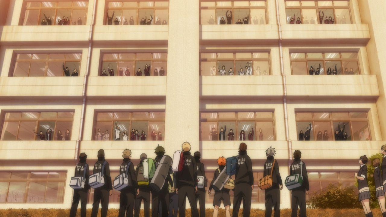 Das Team der Karasuno Obscherschule - Bildquelle: H. Furudate / Shueisha, >HAIKYU!! 2nd Season< Project, MBS  All Rights Reserved.
