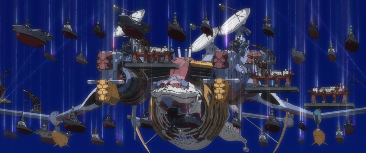 Durch die Berfreiung von Lilith verursacht Shinji etwas, das er nicht mehr unter Kontrolle hat ... - Bildquelle: khara, GAINAX. All rights reserved