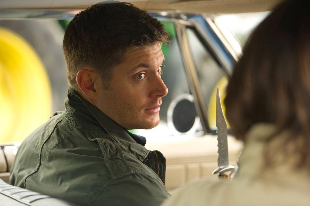 """Endlich ein Zuhause: Dean (Jensen Ackles) scheint sich in der Zentrale der """"Männer der Schriften"""" richtig wohl zu fühlen ... - Bildquelle: Warner Bros. Television"""