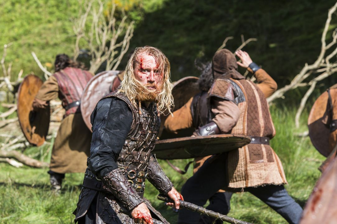 Bekommt es mit Ragnar und seinen Männern zu tun: Jarl Borg (Thorbjorn Harr) ... - Bildquelle: 2014 TM TELEVISION PRODUCTIONS LIMITED/T5 VIKINGS PRODUCTIONS INC. ALL RIGHTS RESERVED.