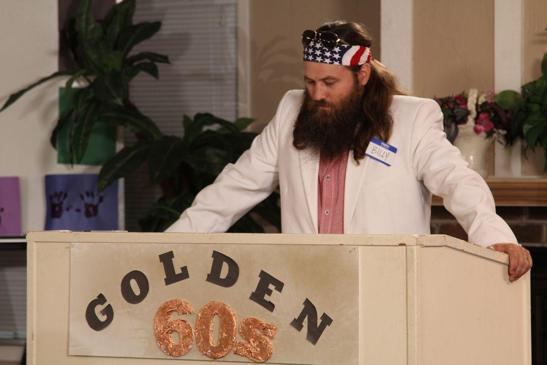 """Ob das gut geht: Willie soll nicht nur das Essen für den """"""""Golden Sixties Club"""" besorgen, er soll auch noch eine Rede halten ... - Bildquelle: 2013 A+E Networks"""