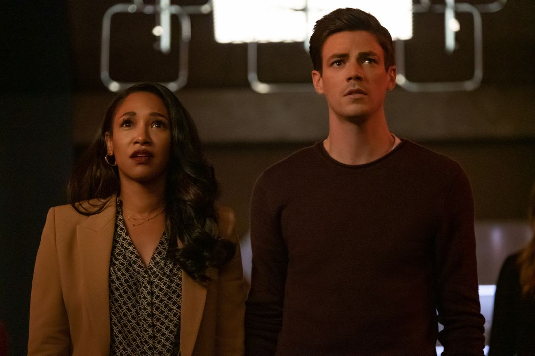 Iris West-Allen (Candice Patton, l.); Barry Allen (Grant Gustin, r.) - Bildquelle: Katie Yu 2019 The CW Network, LLC. All rights reserved. / Katie Yu