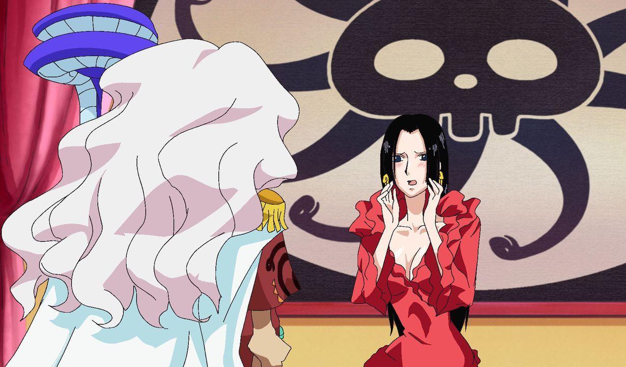 Die Liebe ist ein Wirbelsturm! Hancock ist liebeskrank! - Bildquelle: Eiichiro Oda/Shueisha, Toei Animation