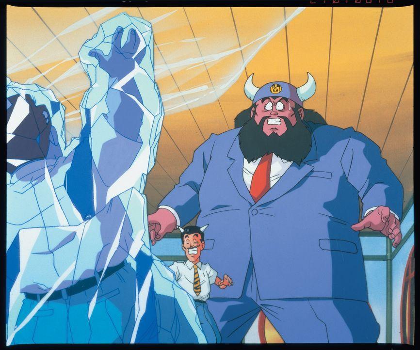 König Yemma (r.) - Bildquelle: Bird Studio/Shueisha, Toei Animation Film   1995 Bird Studio/Shueisha, Toei, Toei Animation